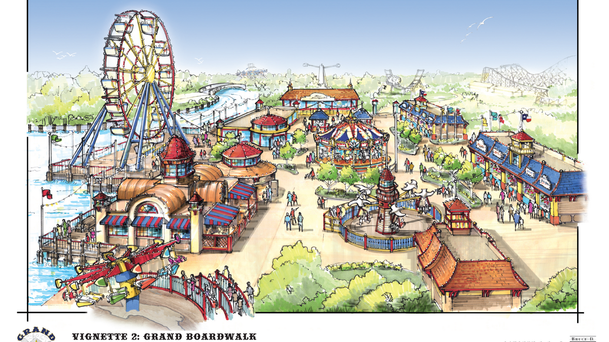 Grand Texas Big Rivers Waterpark Expected To Begin