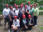 Horan employees test their mettle at Camp Joy.
