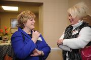 Pamela Walter, left, and Kristin Dovicsak, both of PNC Bank.