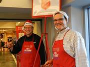 CenterPoint Energy's Salvation Army Bell Ringing last year.