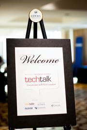 Thursday's TechTalk was held at Loews Vanderbilt Hotel.