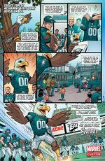 Philadelphia Eagles mascot gets his own comic strip