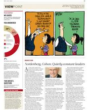 VIEWPOINT: Our redesigned opinion page offers a fresh take on the biggest issues in Pittsburgh business written by some of the region's most prominent opinion leaders. Also new is a weekly cartoon and the results of our online poll questions.