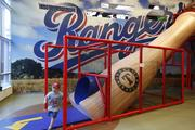Rangers Ballpark, Arlington, Tex. Home of the Texas Rangers • Rank: 9 • Opened: 1994 • Renovated: 2010 Populous designed The Yard, a family friendly section of the park featuring attractions for kids. Sherlock said the design includes numerous baseball-themed elements and reflects on the firm's commitment to the fan experience.