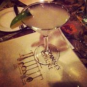 The French Britt, with Hendrick's gin, St. Germaine and lime
