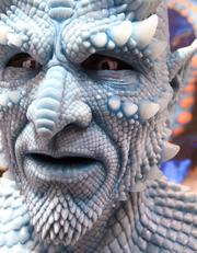 A silicone rubber mask by the Reynolds Advanced Materials company sports some amazing detail.