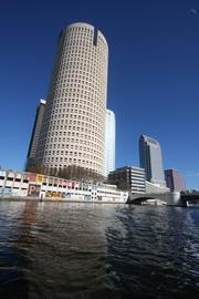 The tower as seen from the water