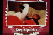 Greg Kilpatrick's wife took this video showing that he is talented at sleeping through their baby's crying.