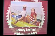 Jeffrey Ledford showed photos of himself fishing.