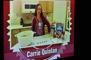 Carrie Quinlan's video showed her making her delicious pastries.