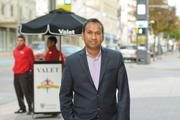 Nafees Alam, vice president of DRG Concepts, says the company spends more than $100,000 per year on valet services to attract guests to Dallas Chop House and its two other downtown Dallas restaurants.