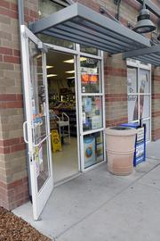 The Olive Drive Market in Davis was ordered to correct its threshold after a complaint was filed in a lawsuit.