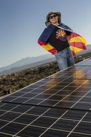 Joseph Hui, a professor at Arizona State University and founder of Monarch Power Corp., sees solar and other disruptive technologies as a way for homeowners and businesses to end their dependence on utility companies.