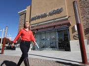 ABQ Uptown landed the city's first Michael Kors store this spring. Pictured is new ABQ Uptown general manager B Janecka.