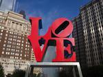Artist behind Philadelphia's LOVE statue, Robert Indiana, dies