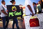 Fast-food worker strikes escalate, 5 arrested in Oakland