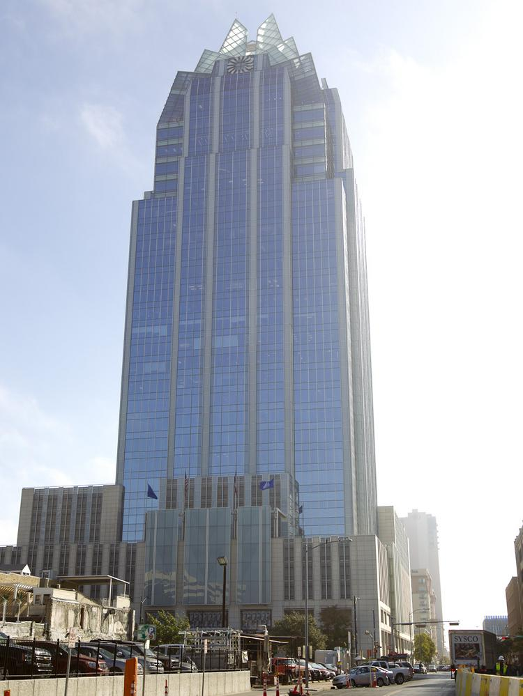 San Antonio Like Austin Looks To A Frost Bank Tower To