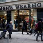 Men's Wearhouse parent company names Gap exec as new CFO