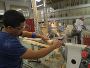 Rx Sports's hand-crafted bats are made from maple and ash.