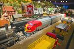 Sorrento's big cheese takes model railroad to a grand scale