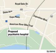 Signature Healthcare Services' proposed 120-bed, high-end psychiatric hospital faces a public hearing next week. The facility, close to the American River Parkway, received initial planning approvals last summer.