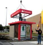 Santander rebranding means business for two local sign companies