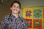 Portland physician assistant embraces Movember and mustache
