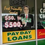 Take action on payday loans