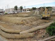 The site measures about one acre and was formerly a gas station.