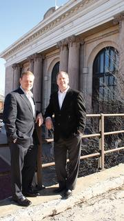 Gary Oborny (right), CEO, and Chad Stafford, President Occidental Management