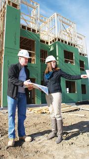 Jason Van Sickle President, J. Van Sickle & Company Pictured with Renae Slusser, manager of architectural planning for Van Sickle