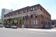 Front of the historic office building at 414 14th St., Denver. It's currently occupied by the Denver Art Museum administration.