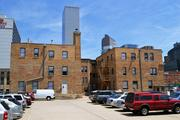 A picture of 414 14th St., from the parking lot to the south. Hyder Construction will refurbish the building and re-lease it to office tenants in 2014.
