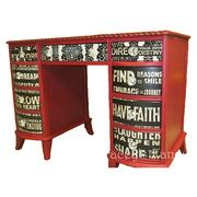 A whimsical desk created by Tracey Bellion