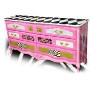 One of the many hand painted chests created by Tracey Bellion for Tracey's Fancy