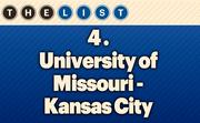 No. 4 University of Missouri-Kansas City  Fall 2013 Enrollment: 15,746 Location: Kansas City For more information, check out the 2013 Top colleges and universities available to KCBJ subscribers.