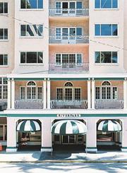 As the Riverpark Grande hotel. Developer Darrell Reha, president of Kendar Homes in Bradenton, purchased the property for $3.5 million in 2005 and began a $30 million restoration.