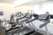 The House style dosen't end at the fitness center.