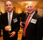 Richard Rhine with Grady Health System and Jim Deupree with ChapterTwo.