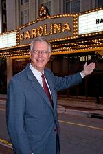 <strong>Holliday</strong> leaving Carolina Theatre for state post