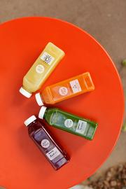 A variety of Juby True juices.