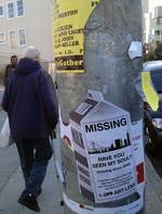 Tech tension: Posters in San Francisco seek return of city's soul