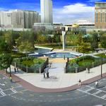 Centennial Olympic Park campaign completed, now the work begins