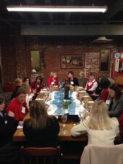 Nearly 100 WWMB alumnae attended the 2013 Women Who Mean Business holiday luncheon at the Culinary Center of Kansas City. The annual event brings together alumni of the Women Who Mean Business program.