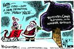 Milt Priggee's editorial cartoon 12-13-2013