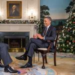 Barack Obama is <strong>Steve</strong> <strong>Harvey</strong>'s holiday treat