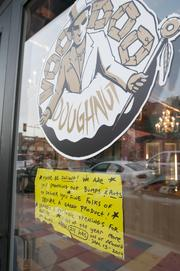 Voodoo Doughnut in Denver.