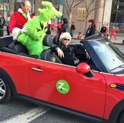 The Grinch, it turned out, was Santa Clara County Assessor Larry Stone. He rode in the Zipcar that paced Sunday's Santa Run, although participants may have done the course faster if he was chasing them instead of the other way around.