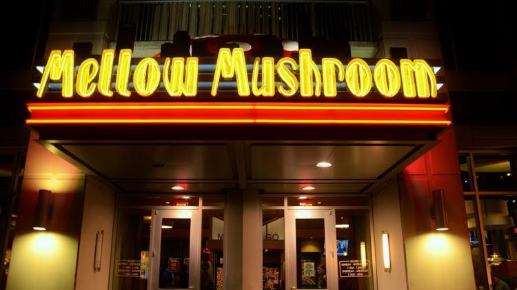 Exterior Shot Of A Mellow Mushroom