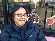 Jerico Javier, 36, of Denver, was the first one in line to snag a Voodoo Doughnut Friday. He got hooked on the quirky doughnut flavors while visiting his sister, who lives in Portland -- the site of Voodoo's first store.